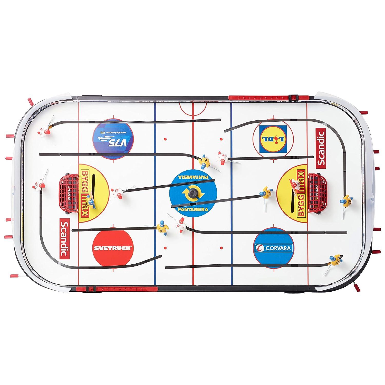 Stiga Play Off 21 Sverige-Canada Eishockey Game Black//White 96 x 50 cm