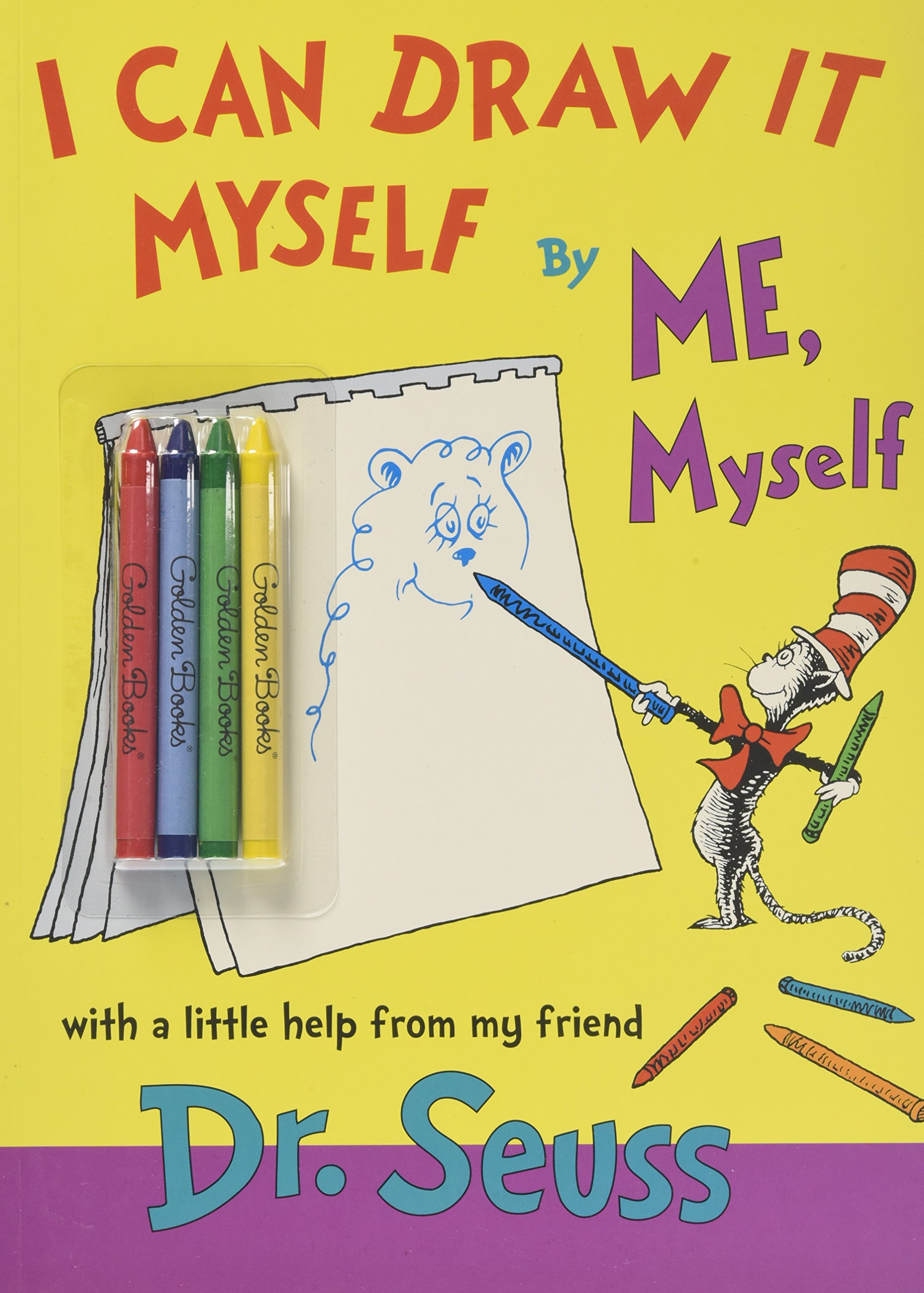 I Can Draw It Myself, By Me, Myself (Classic Seuss) by Golden Books (Image #1)