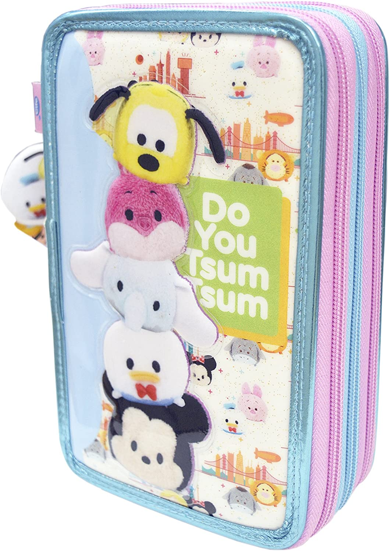 Tsum Tsum - Estuche de 3 Pisos Deluxe con volúmen (CIFE 40570): Amazon.es: Juguetes y juegos