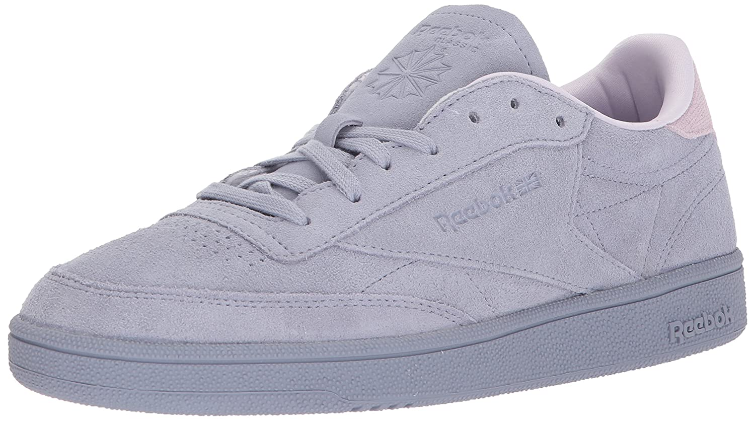 Reebok Women's Club C 85 NBK Sneaker B072Q4WD1K 7 B(M) US|Purple Fog/Quartz