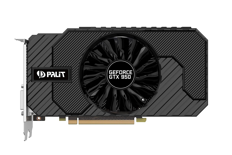Palit GeForce GTX950 StormX OC 2GB - Tarjeta Grafica, Color ...