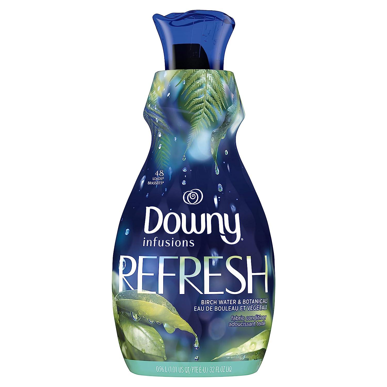 Downy Infusions Liquid Fabric Softener, Refresh, Birch Water & Botanicals, 32 Fl oz