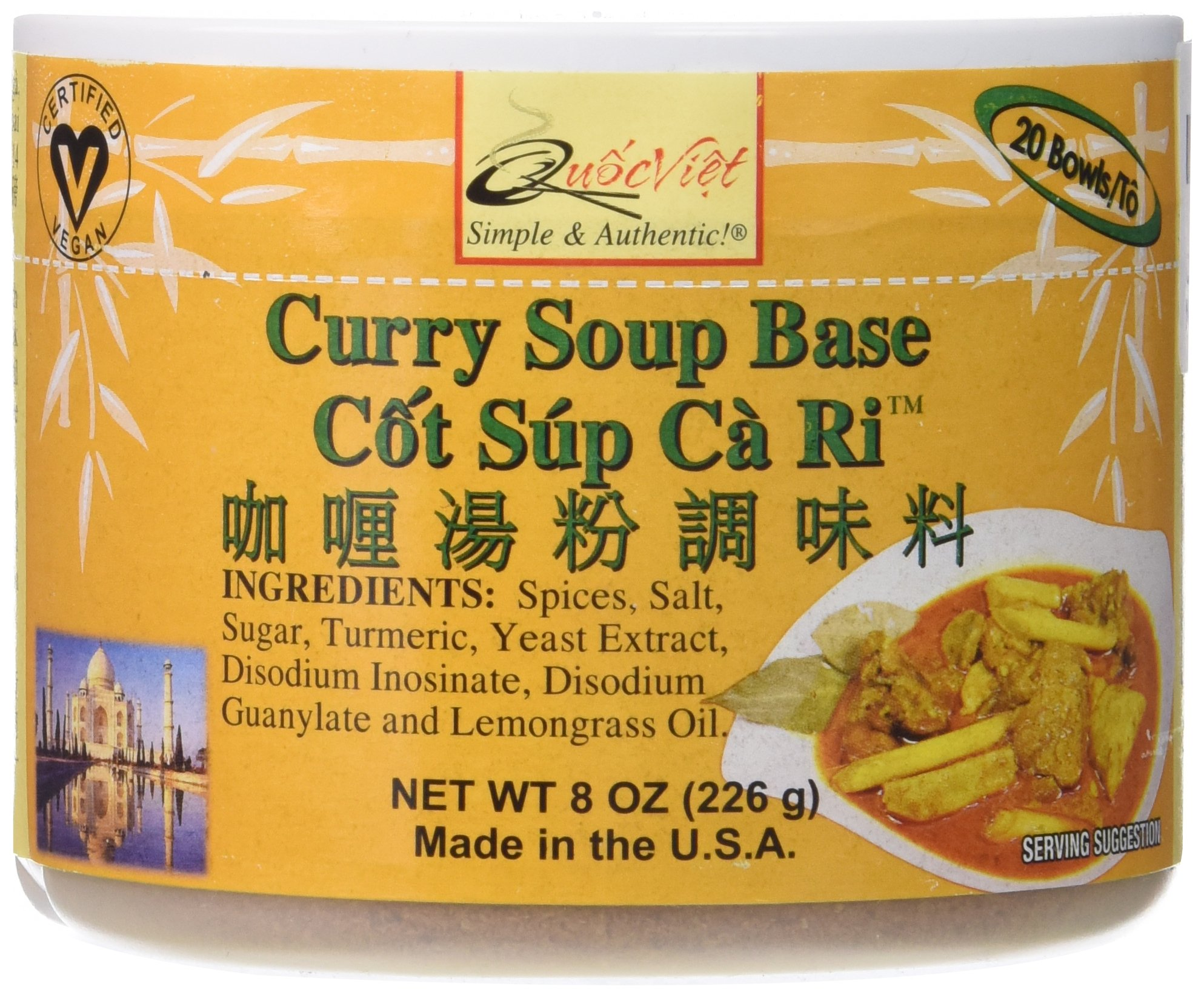 Quoc Viet Foods - Curry Soup Base 8oz Cot Sup Ca Ri Brand