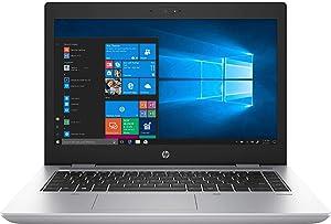 """HP ProBook 645 G4 Laptop (AMD Ryzen 7 PRO 2700U Quad-Cores Processor, 32GB RAM, 512GB M.2 PCIe SSD + 2TB 2.5 HDD, 14"""" Flat FHD (1920 x 1080) Display, AMD Radeon Vega 10 Graphics, Win 10 Pro)"""