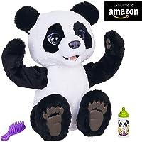 Furreal Friends-Mi Panda Curioso, color blanco/negro, Talla Única