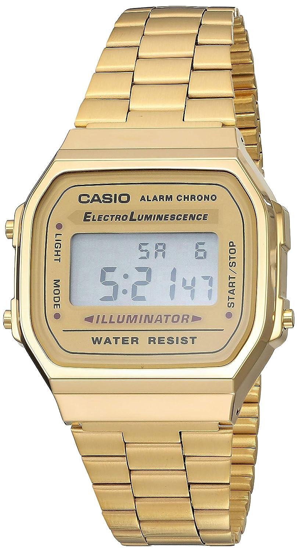 cfa8fe5b79fa Amazon.com  CASIO Vintage Collection A168 Watch