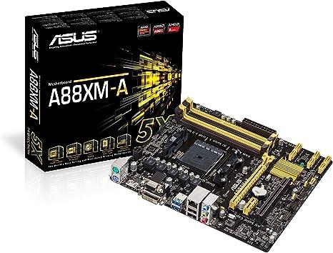 Socket FM2 ASUS AMD A88X Motherboard A88XM-A DDR3 DVI HDMI USB 3.0 mATX