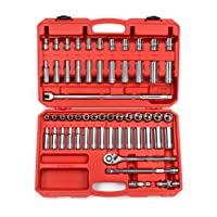TEKTON 1/2-Inch Drive Socket Set Inch/Metric 58-Piece 13201 Deals