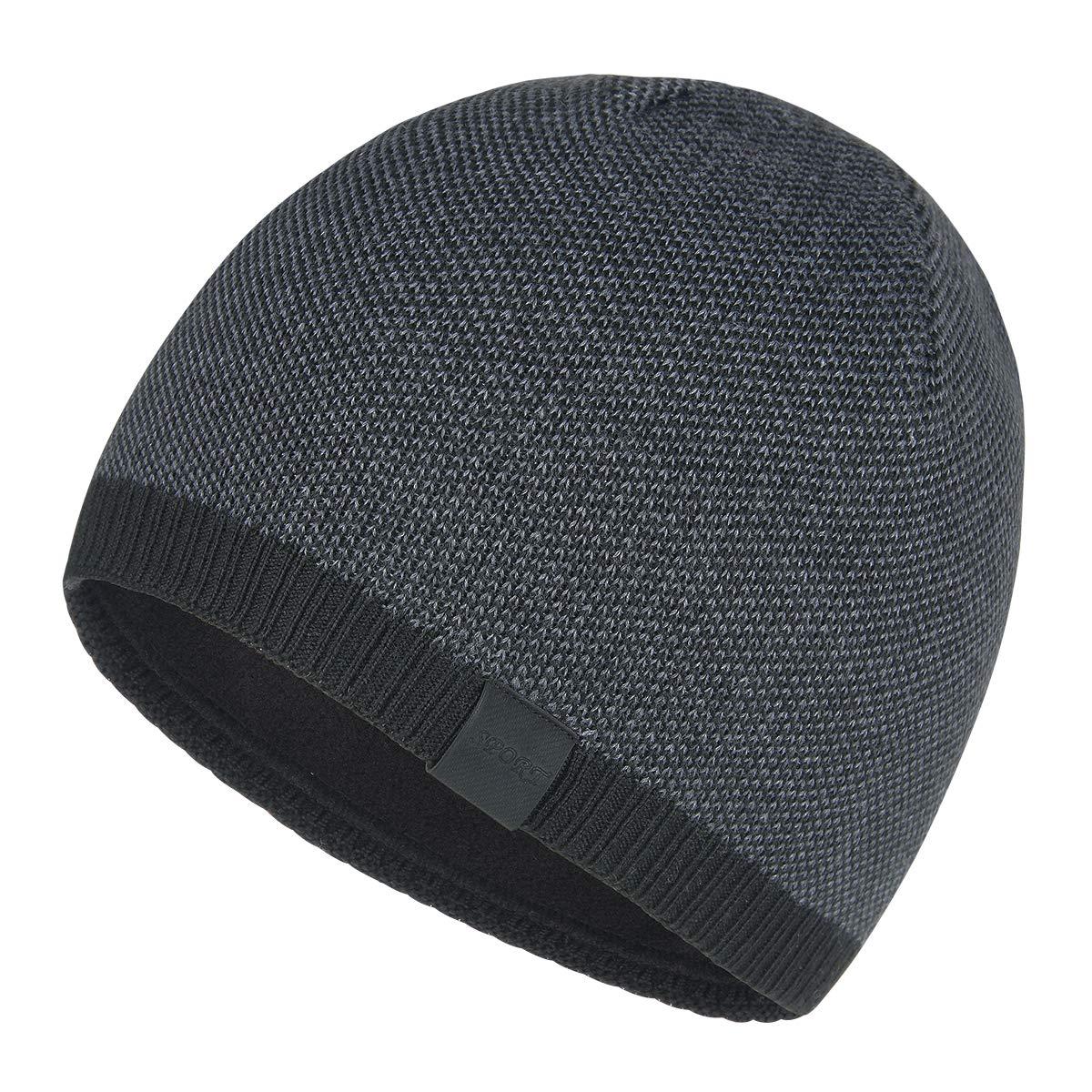 db31e06b0 ایگرد - خرید از آمازون | OMECHY Mens Winter Warm Knitting Hats Plain ...