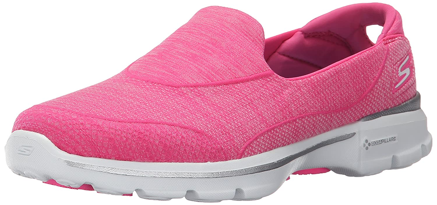 Skechers Damen Super Sock 3 Sneaker, Rose  40 EU|Pink (Hpk Hpk)