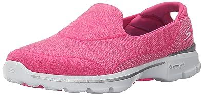14046 - Chaussures de Tennis, Rose (Hpk), Taille 36Skechers
