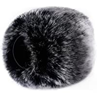Neewer Outdoor Microphone Furry Windscreen Muff for Zoom H4n, H5, H6, Sony PCM-D50, Tascam DR-100 MKII and Similar Portable Digital Recorders