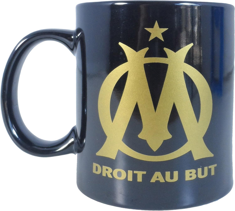La Plume Dor/ée Mug en Bo/îte Individuelle C/éramique Noir//Or 14,5 x 11,5 x 9 cm