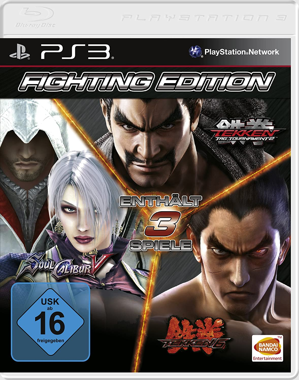 Fighting Edition (SoulCalibur V - Tekken 6 - Tekken Tag Tournament 2) [Software Pyramide]: Amazon.es: Videojuegos