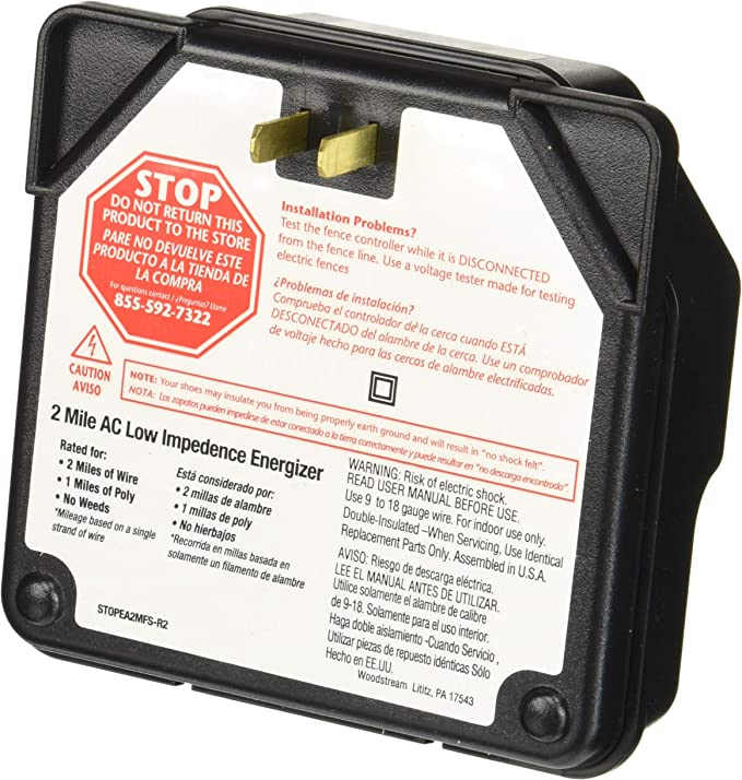 Fi-Shock EA5M-FS 5-Mile Low Impedance Electric Fence Energizer