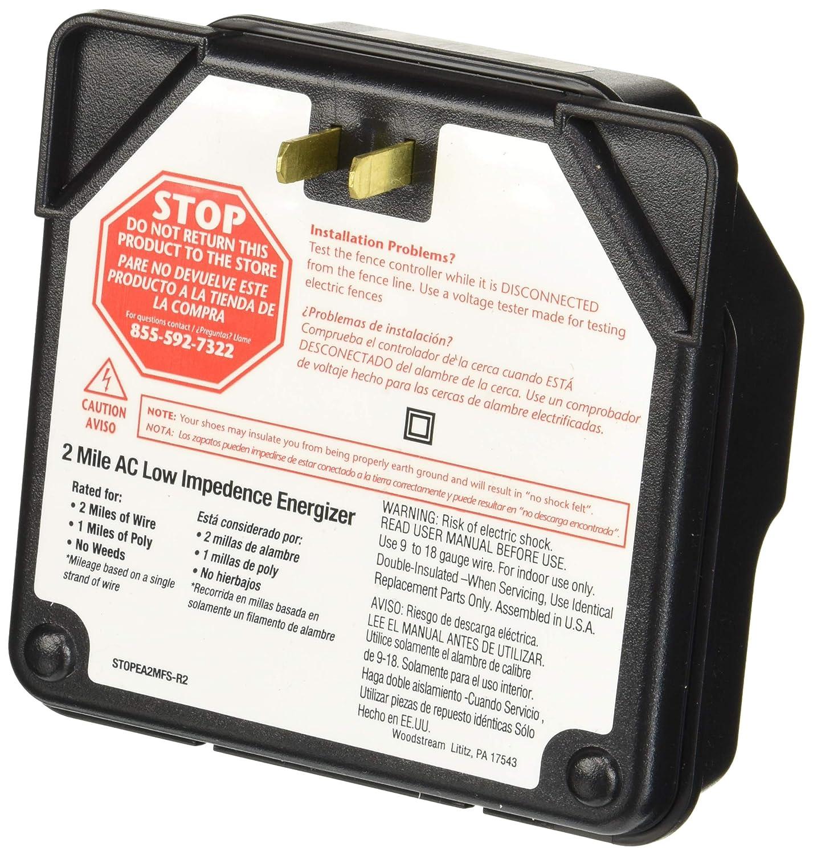 Amazon.com : Fi-Shock EA5M-FS 5-Mile Low Impedance Electric Fence Energizer : Livestock Equipment : Garden & Outdoor