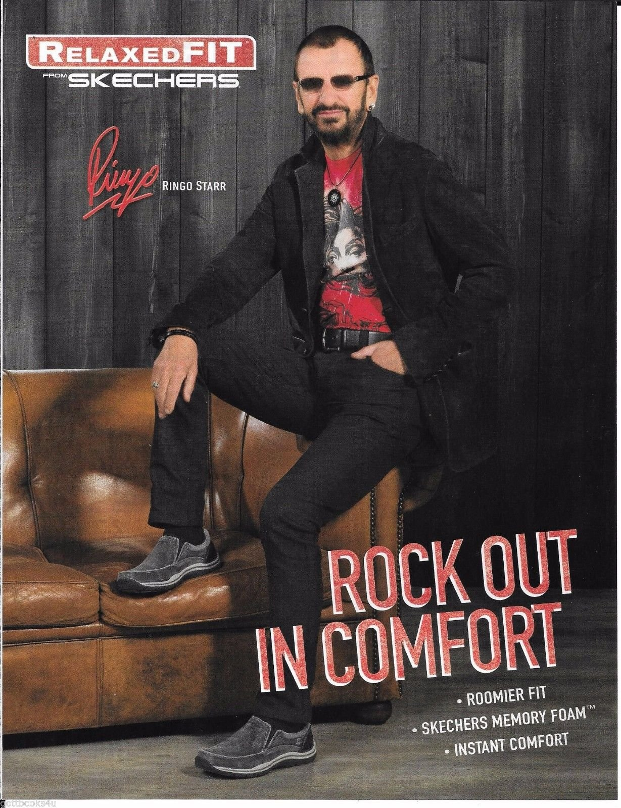 Skechers - Relaxed Fit - Ringo Starr