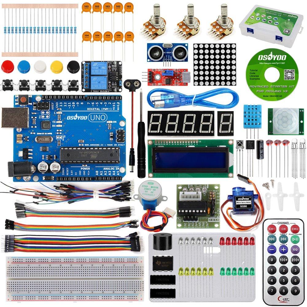Arduino Uno R3 Kit KOOKYE (1FNT8MFC)
