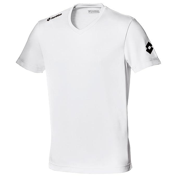 Lotto - Lotto - Camiseta de fútbol transpirable Modelo EVO para hombre (Mediana (M