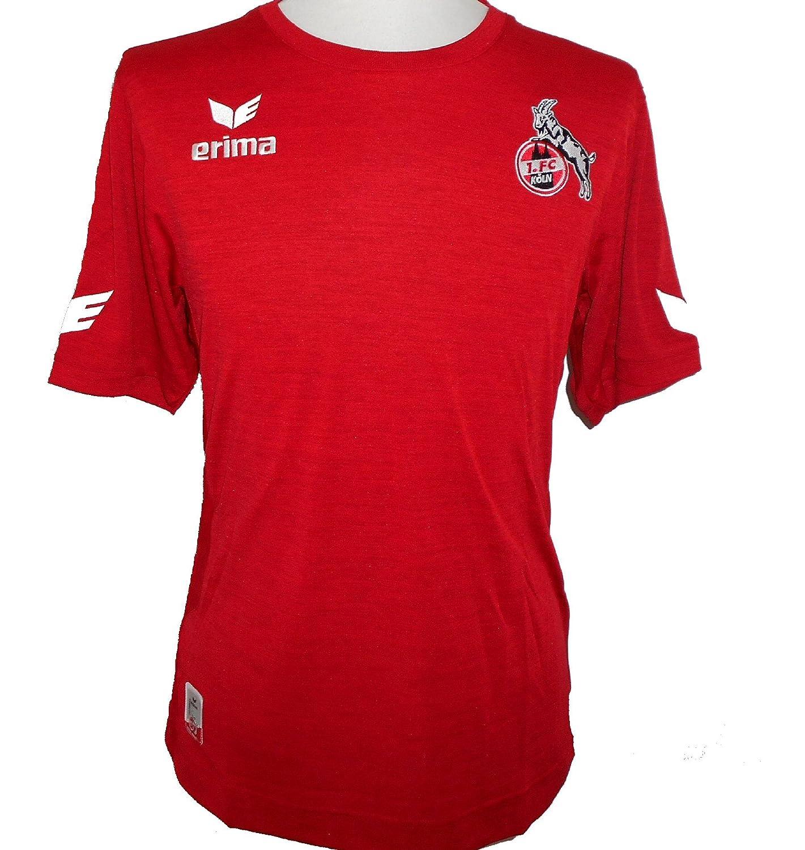 38c5492622f Erima 1.FC Koln Official Away Men s Football Shirt 2016-2017  Amazon.co.uk   Sports   Outdoors