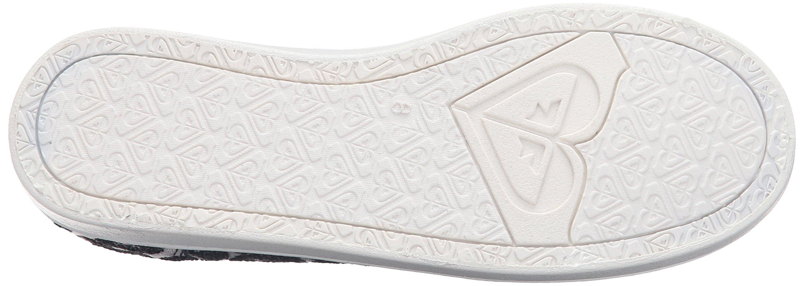 Roxy Women's Lido Iii Slip-on Shoes Flat, Black/Black/Dark Grey, 7 M US by Roxy (Image #3)