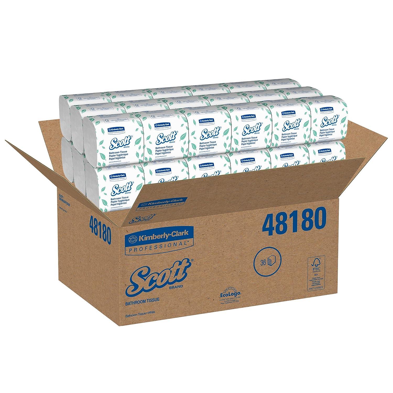 Amazoncom Scott Hygienic Bathroom Tissue 48180 Soft 1Ply