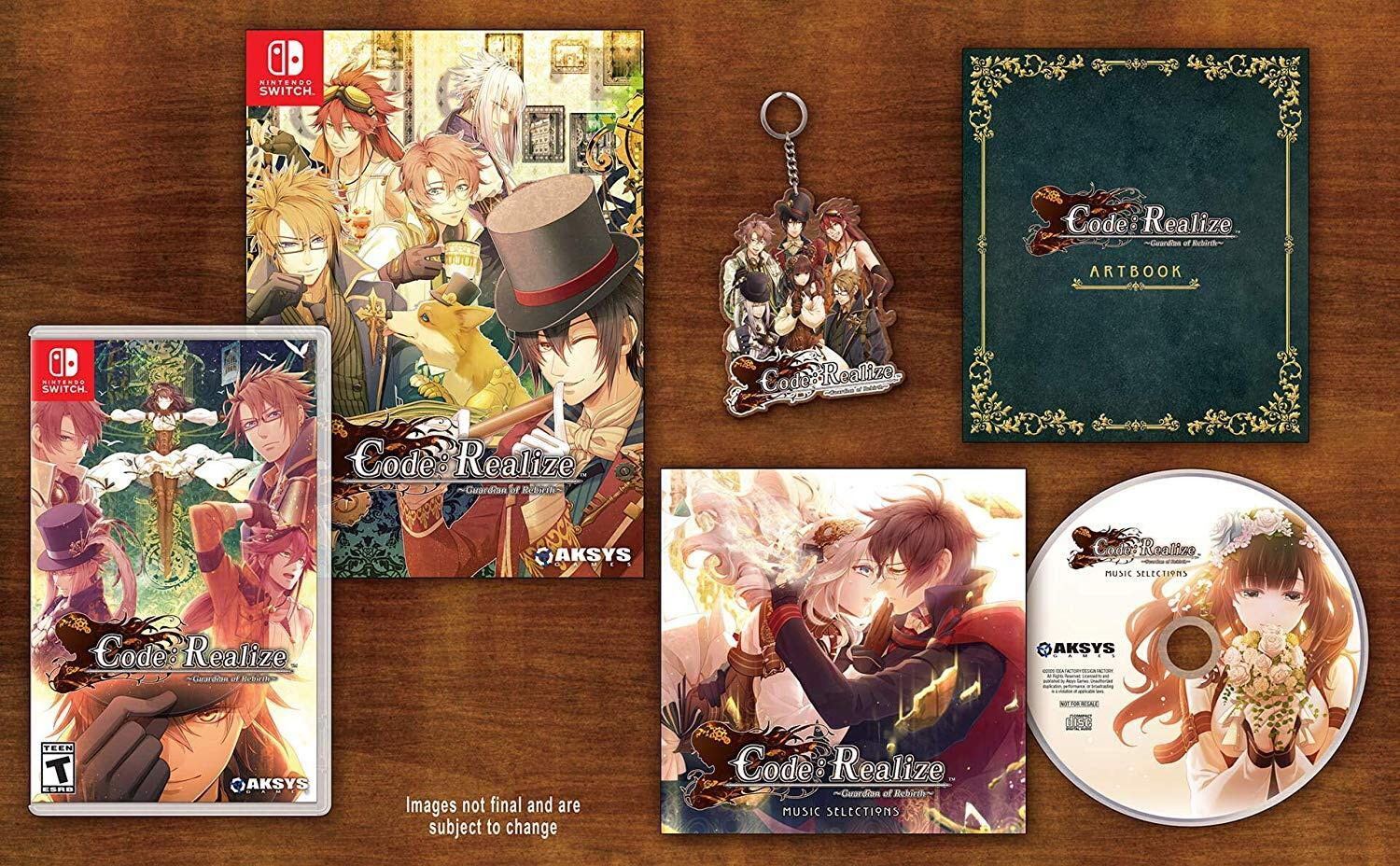 Code: Realize Guardian of Rebirth Collector's Edition for NintendoSwitch [USA]