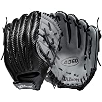 Wilson A360 Baseball Glove - Black