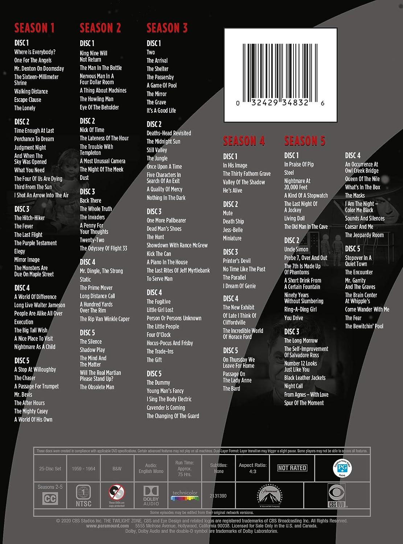 The Twilight Zone: The Complete Series [USA] [DVD]: Amazon.es ...
