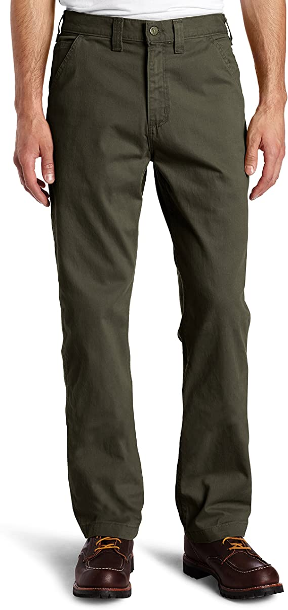 *New 36x34 CARHARTT Carpenter Jeans TAN Field KHAKI Relaxed Twill Dungaree Pants
