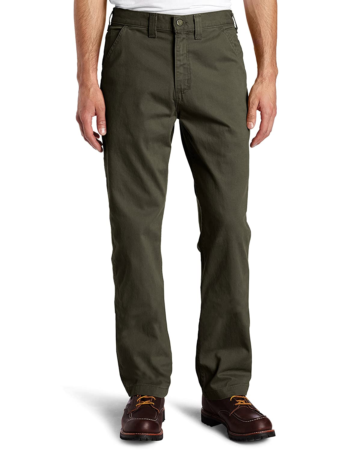 Carhartt Men's Relaxed-Fit Washed Twill Dungaree Pant Carhartt Sportswear - Mens B324