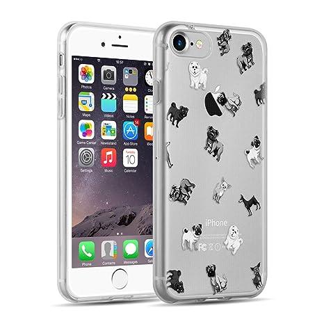 coque iphone 7 silicone chien