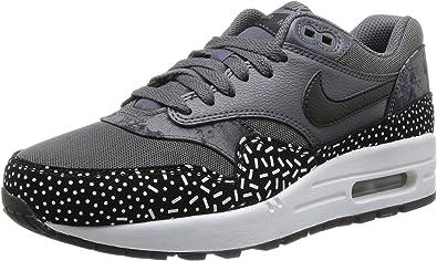 Nike Women S Wmns Air Max 1 Print Dark Grey Black White Mtllc Silver 9 Us Amazon Ca Shoes Handbags