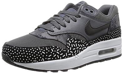 new arrival de0d6 0aa29 Nike WMNS AIR Max 1 Print, Chaussures pour Le Sport et Les Loisirs en  ext Eacuterieur
