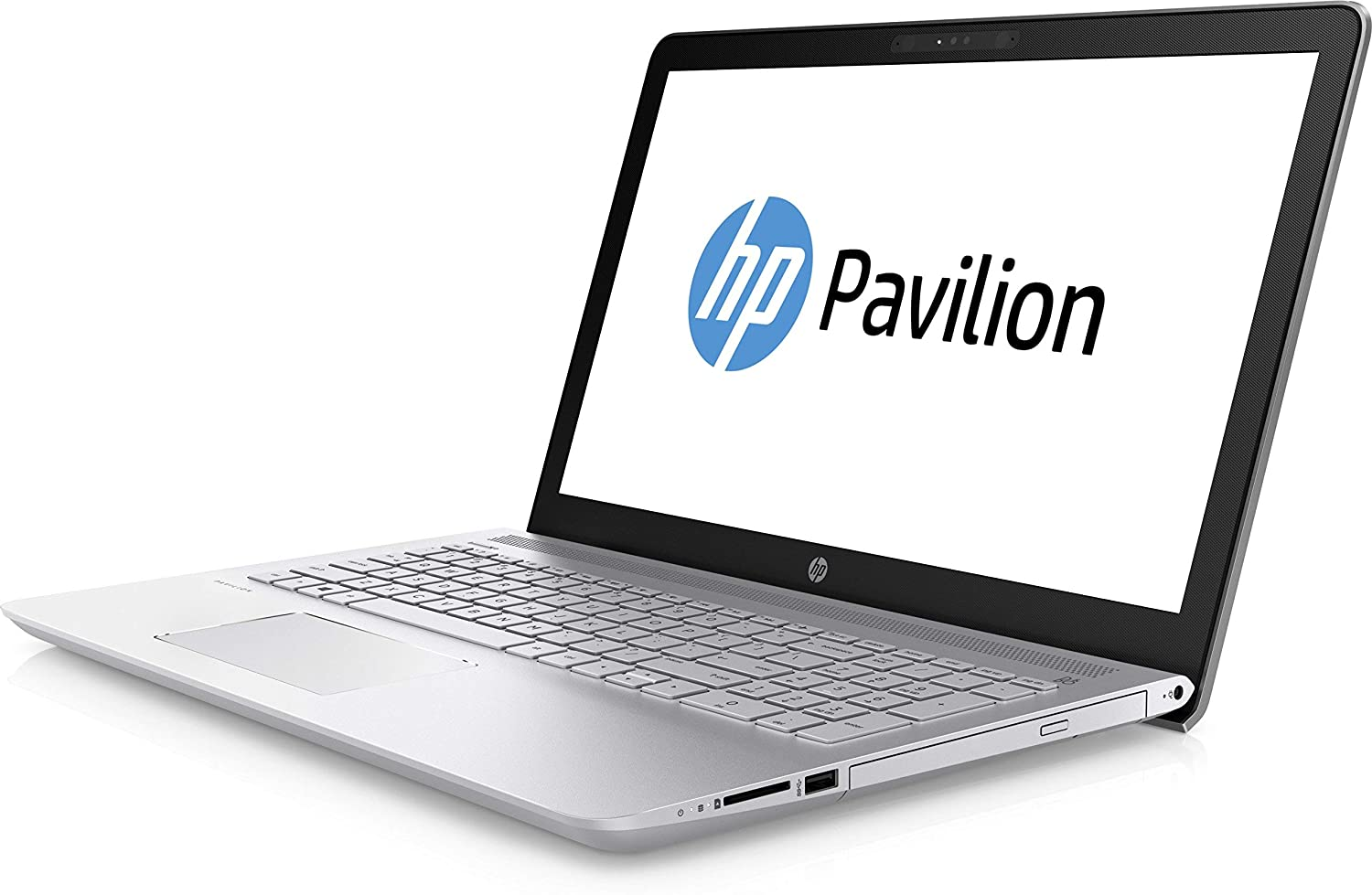 HP Pavilion Intel Core i5 8th Gen 15 6-inch FHD Thin and Light Laptop  (8GB/1TB HDD/Win 10 Home/2GB Graphics/Silver/2 02 kg), cc129TX