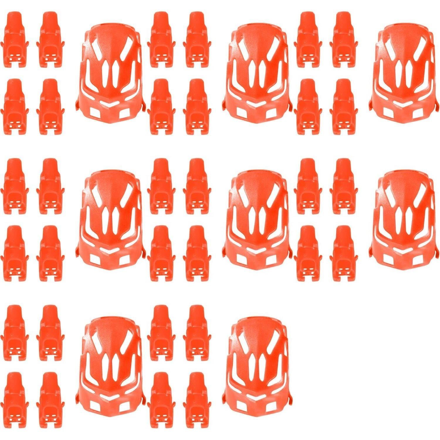 Frog Studio Home 8 x Quantity of Estes Proto-X Nano Body Shell H111-01 Red Quadcopter Frame w/Motor Supports - Fast Free Shipping from Orlando, Florida USA