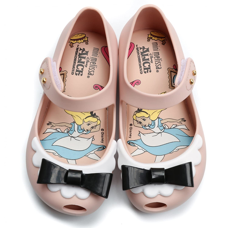 Melissa Shoes Mini Alice Ultragirl 19/20 Nude Bow FBiNtegpR