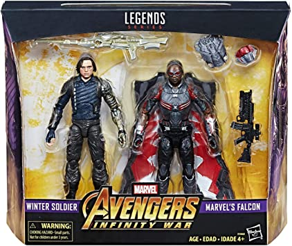 Marvel Legends Avengers Infinity War - Winter Soldier Falcon 2 Pack: Amazon.es: Juguetes y juegos