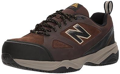 New Balance Men's 627v2 Work Training Shoe, Brown, ...