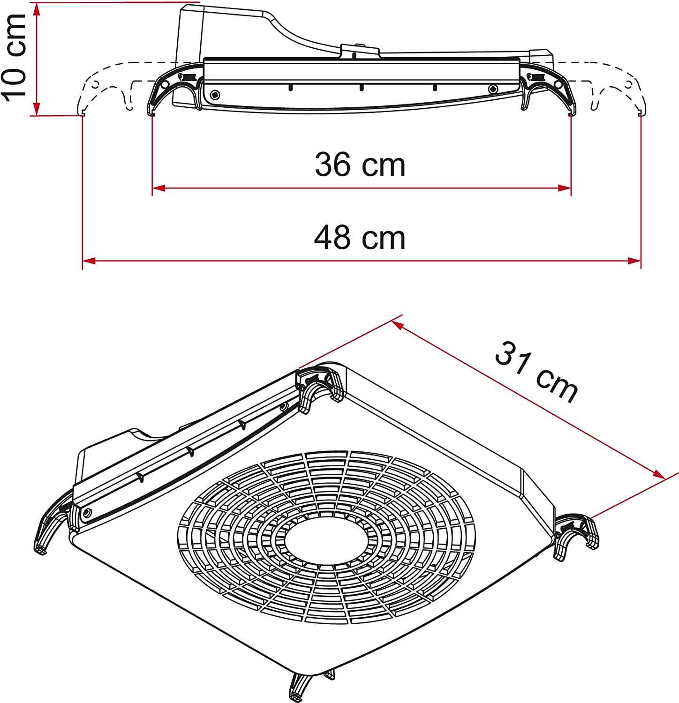 Fiamma Ventilator Turbo Kit