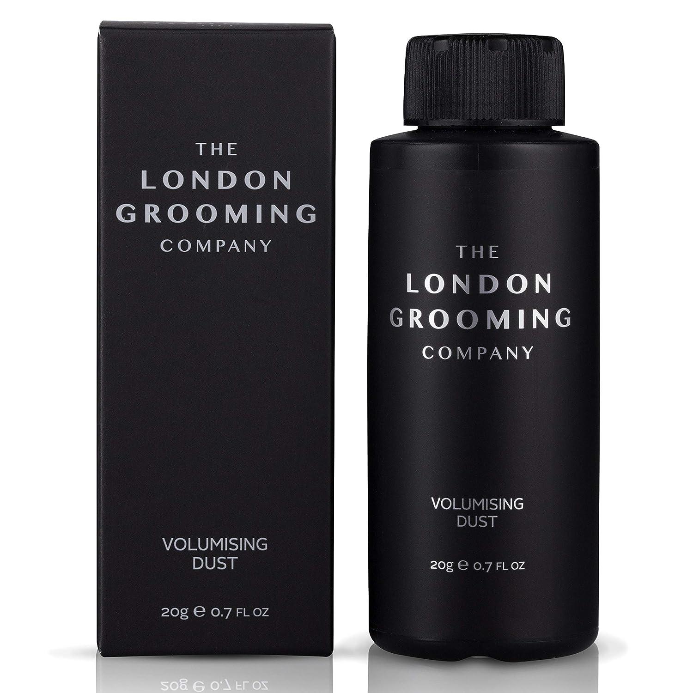 The London Grooming Company Volumizing Matte Styling Texturizing Hair Powder for Men, 0.7oz (20gm) Shaker Bottle: Beauty