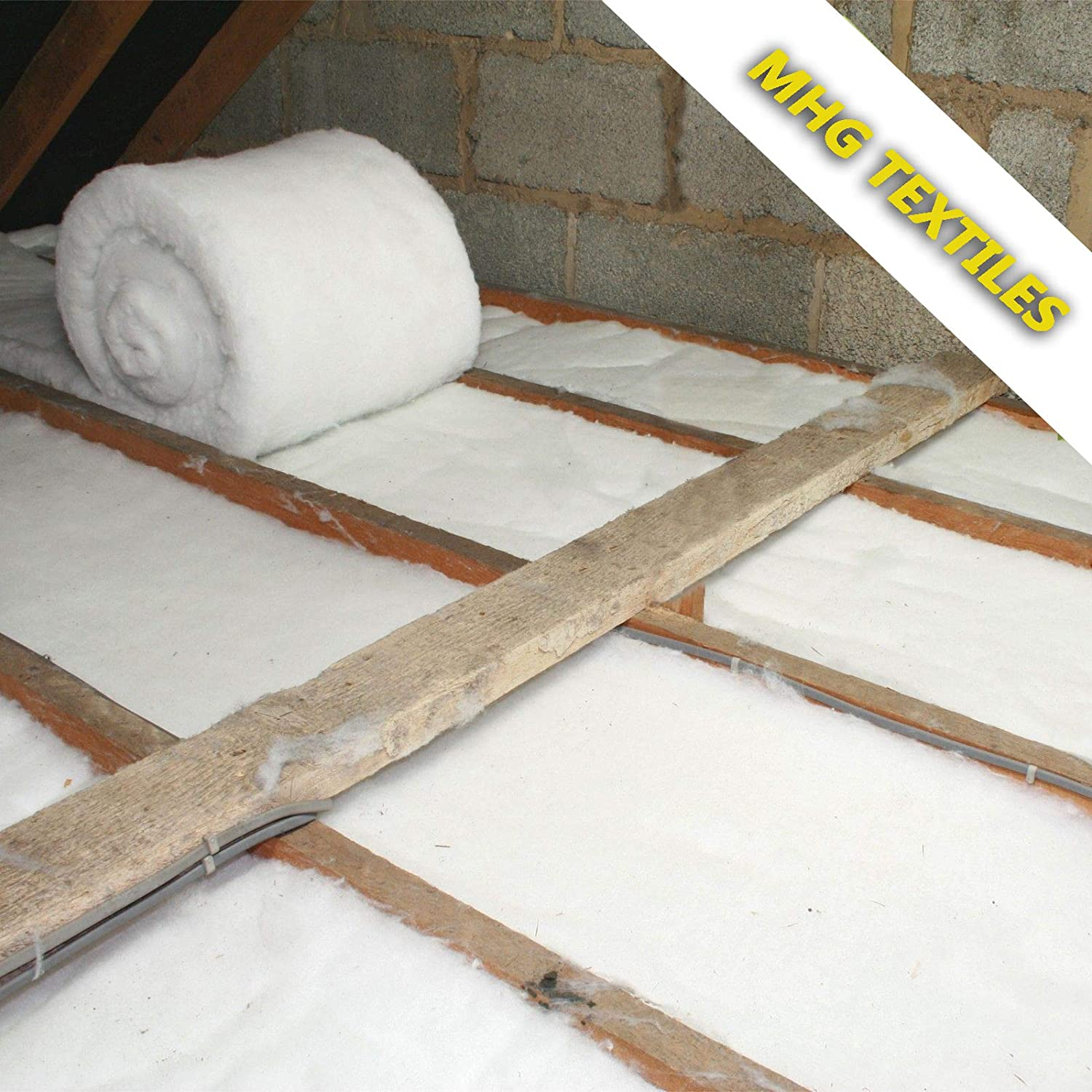 Itch Free Loft Thermal Construction Insulation Roll – 8 Metre x W370 mm x T110mm MHG Textiles