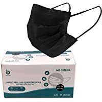 Quanlazer MOONCARE Type IIR chirurgisch masker, [50 eenheden / doos], 3-laags wegwerpmaskers [niet herbruikbaar…