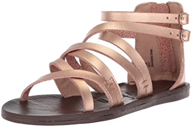 ff4fc4ee8aa Blowfish Kids Girls  Doosie-t Sandal Pearl Rosegold Dyecut Polyurethane 6  Medium US Toddler