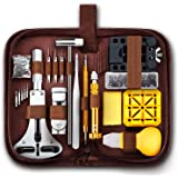Unamela Professional Watch Repair Kit, Watch Band Tool Link Pin Remover Set, Including Watch Back Case Opener, Spring…