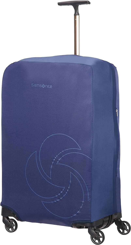 Samsonite Global Travel Accessories - Funda para Maleta Plegable, M, Azul (Midnight Blue)