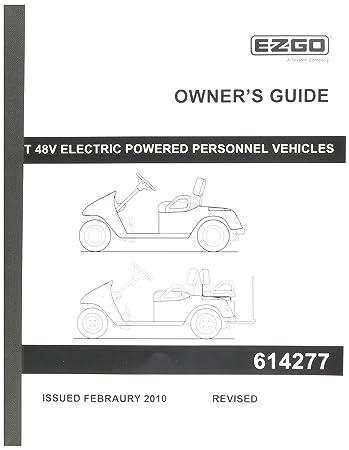 amazon com ezgo 614277 owner s guide for txt 48v freedom golf car rh amazon com Rebuilt Ezgo Green TXT Rebuilt Ezgo Green TXT