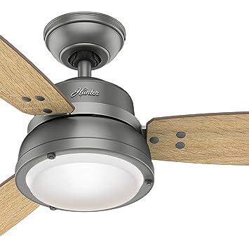 Hunter Fan - Ventilador de techo para exteriores (52 pulgadas, con ...