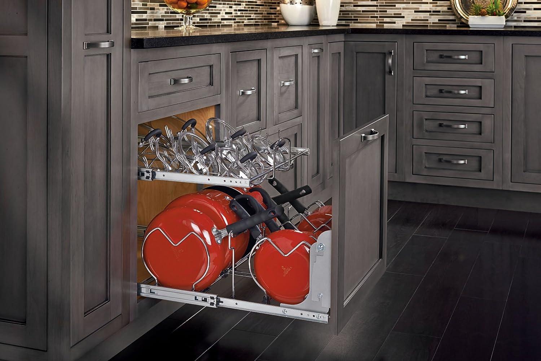 organizer pin shelves and two shelf a rev cookware tier