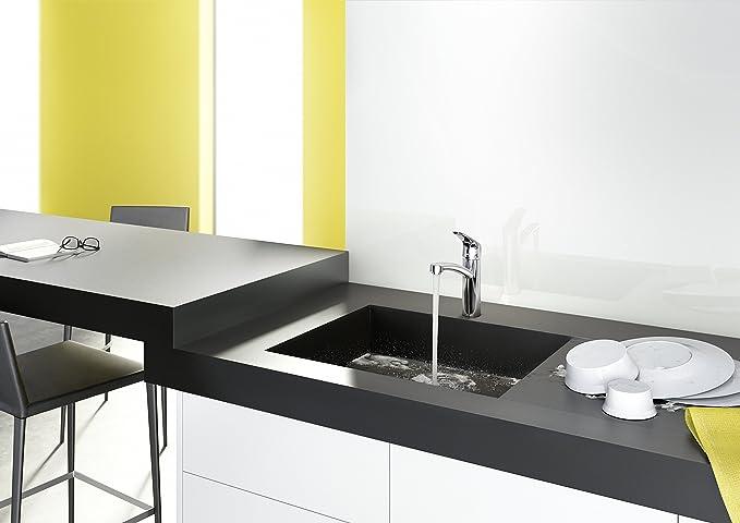 Hansgrohe focus küchenarmatur 360 schwenkbar hoher auslauf 160mm chrom amazon de baumarkt